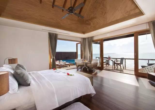 马尔代夫宁静而私密的神仙珊瑚岛