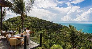 苏梅岛四季酒店5天4晚自由行  尊享全球知名奢华酒店