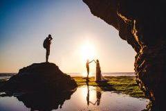 巴厘岛。我们的婚纱照