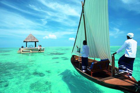 马尔代夫泰姬珍品6天4晚自由行 拥有马代最大的潟湖景观
