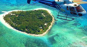 斐济直升机观光游